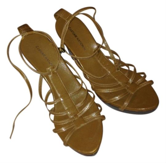 Costume National Taupe Sandals