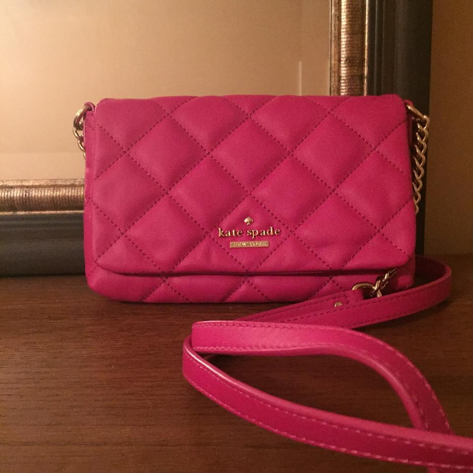 Kate Spade Berry Tartlet Leather Emerson Place Julee Shoulder ... : kate spade quilted crossbody - Adamdwight.com