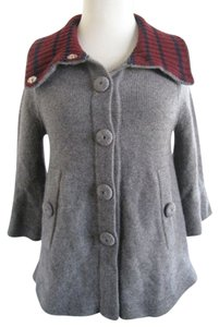 Marc by Marc Jacobs Cashmere Swing Gray Jacket