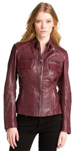 Bod & Christensen Oxblood Leather Jacket