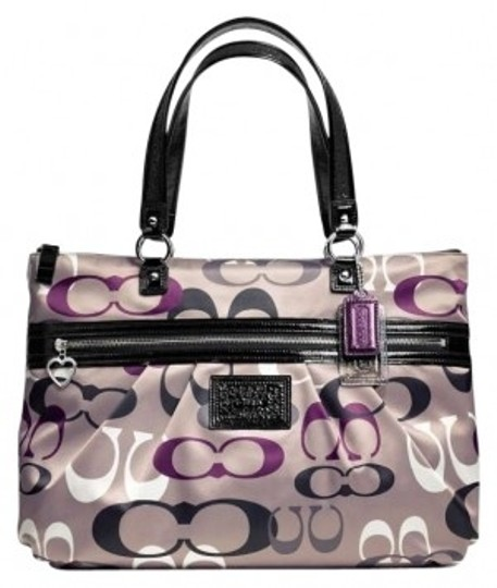 Preload https://item4.tradesy.com/images/coach-daisy-tote-style-f22961-silvermulticolor-silvermulticolor-optic-print-fabric-with-patent-fabri-151273-0-0.jpg?width=440&height=440