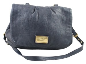 Marc Jacobs Classic Q Satchel in Navy Blue