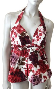 Tracy Reese Floral Halter Top