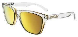 Oakley Oakley OO9013-A4 Frogskins Transparent/Gold Lens Sunglasses