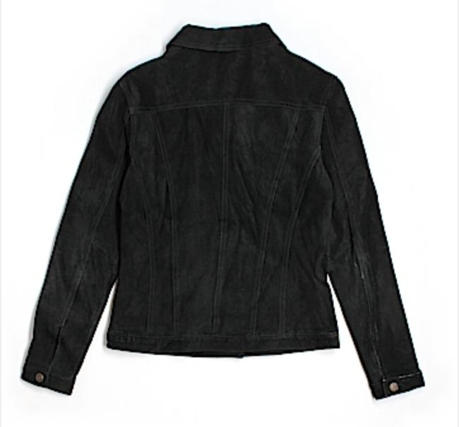 For Joseph Luxury With Tags Western Fall Winter Spring Summer Holiday Casual Soft Black Suede Leather Jacket