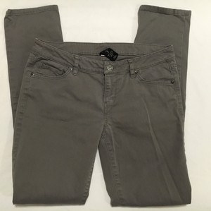 Victoria's Secret Straight Leg Gray Casual Work Skinny Pants Grey