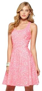 Lilly Pulitzer short dress Pink, White on Tradesy