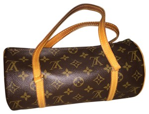 Louis Vuitton Satchel in Golden Color