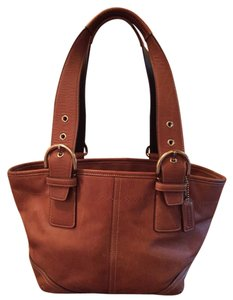 Coach Leather Rare Satchel in Brown