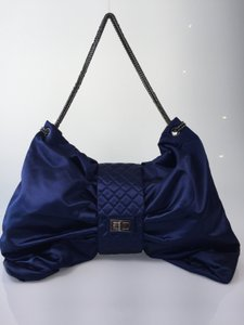 Chanel Designer Satin Bow Shoulder Bag
