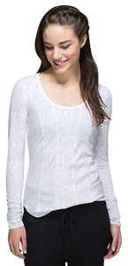Lululemon Between the Lines Long Sleeve Pima Cotton Top