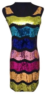 Forever 21 Sequin Bodycon Medium Dress