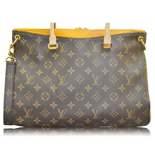 Louis Vuitton Monogram Canvas Pallas Shoulder Bag