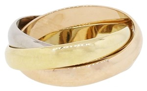 Cartier Cartier Trinity 18k Tri Color Gold Ring