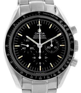 Omega Omega Speedmaster Stainless Steel Mens Moon Watch Caliber 861