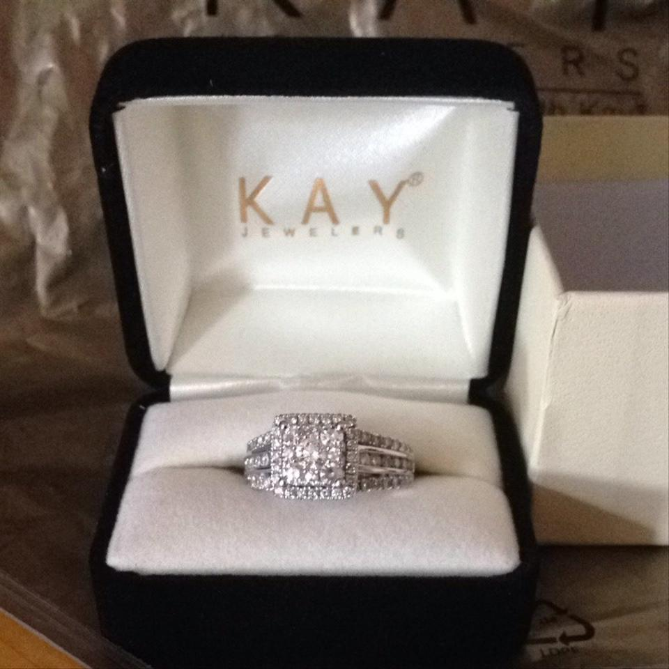 0932c9cb01a13 Kay Jewelers White Gold Diamond Engagement Ring 31% off retail