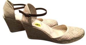 Sam Edelman for American eagle outfitters Trendy Summer Espedrille Beige natural Wedges
