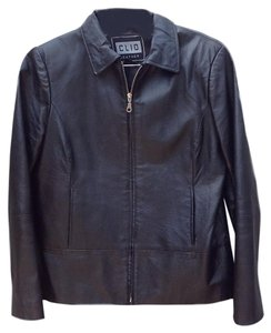 Clio Leather Leather Jacket