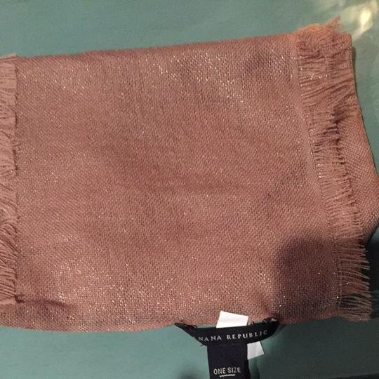Banana Republic Pink 100% Wool Scarf
