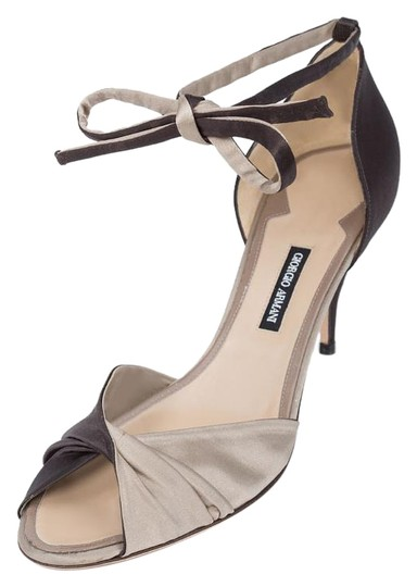 Preload https://item4.tradesy.com/images/giorgio-armani-dark-browngrey-satin-heels-pumps-size-us-95-15131683-0-1.jpg?width=440&height=440