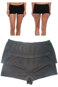 "Yummie by Heather Thomson * 2 Pairs ""Hazel"" Boyshort Mini/Short"