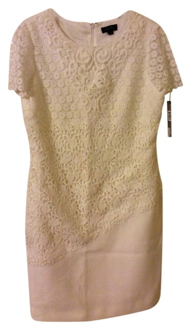 Preload https://item4.tradesy.com/images/tahari-white-arthur-s-levine-henry-lace-above-knee-workoffice-dress-size-12-l-1513203-0-0.jpg?width=400&height=650