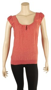 Marc by Marc Jacobs Cotton Size S Top Orange