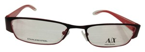 A|X Armani Exchange Armani Exchange AX227 Col 0YPA Brown Metal Eyeglasses Frame 50mm 17mm 135mm