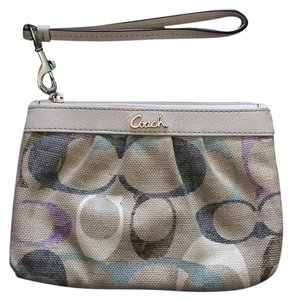 Coach Wristlet in Colorful