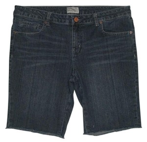 Aéropostale 5 Pocket Style Zip Fly Bermuda Shorts Blue