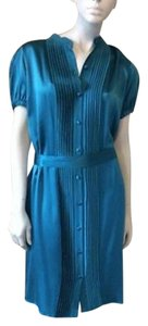 Tufi Duek short dress Teal on Tradesy