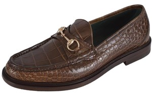 Gucci Men's Loafers Brown Flats