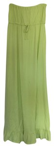 Neon yellow Maxi Dress by Capelli New York