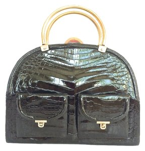 Alligator Deco Shoulder Bag