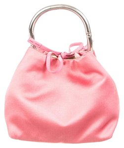Prada Dust Cover Included Wristlet in Pink
