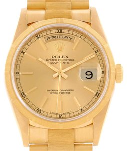 Rolex Rolex President Day-Date Mens 18k Yellow Gold Automatic Watch 18248