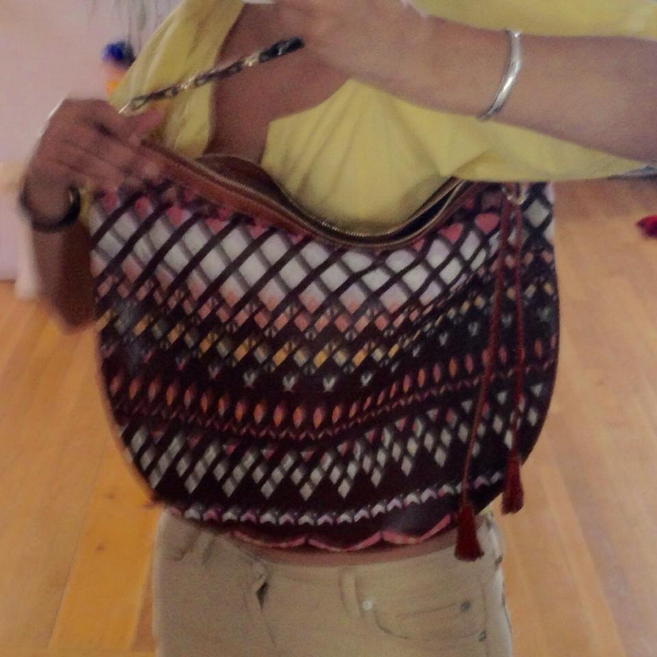Missoni Leather and Knit Hobo Bag - Tradesy