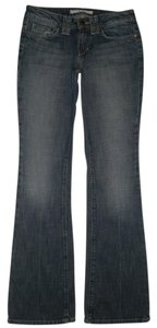 JOE'S Jeans 5 Pocket Style Zip Fly Cotton/spandex Low Rise Honey Boot Cut Jeans-Medium Wash