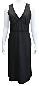 Black Maxi Dress by Banana Republic Maxi Stretchy