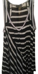 Ella Moss Top Black & grey