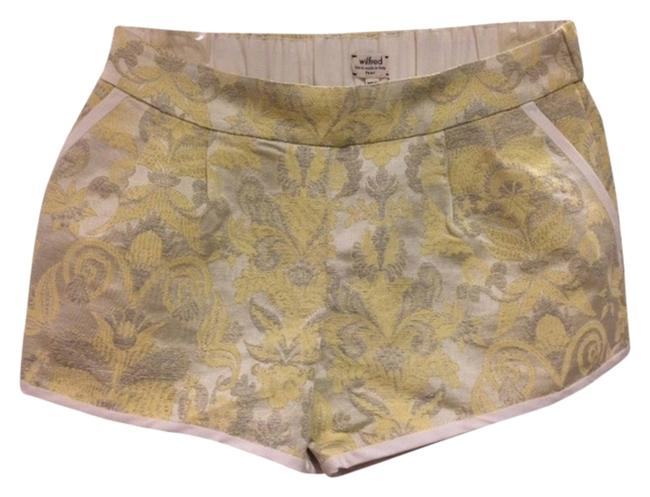Wilfred Shorts Yellow/Silver Floral