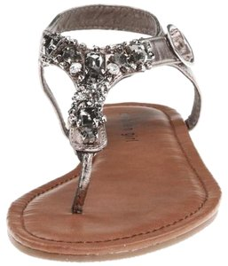 Madden Girl Silver/Pewter Sandals