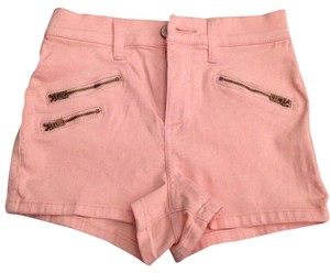 Abercrombie & Fitch New High Waist New Shorts pink