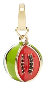 Fossil New Fossil Brand Goldtone Red + Green Watermelon Charm JF00686710