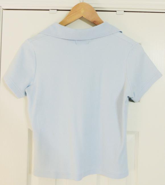 Standard Blues Polo Top Baby blue