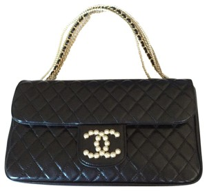 Chanel Pearl Westminster Classic Flap Shoulder Bag