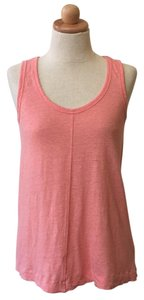 Cynthia Rowley Linen A-line Sleeveless Top Pink