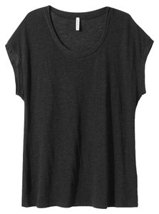Lanston Made In The Usa Usa Loose Scoop T Shirt graphite