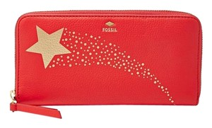 Fossil Gifting Leather Zip Clutch