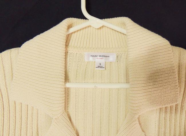 Isaac Mizrahi Double-breasted Sweater